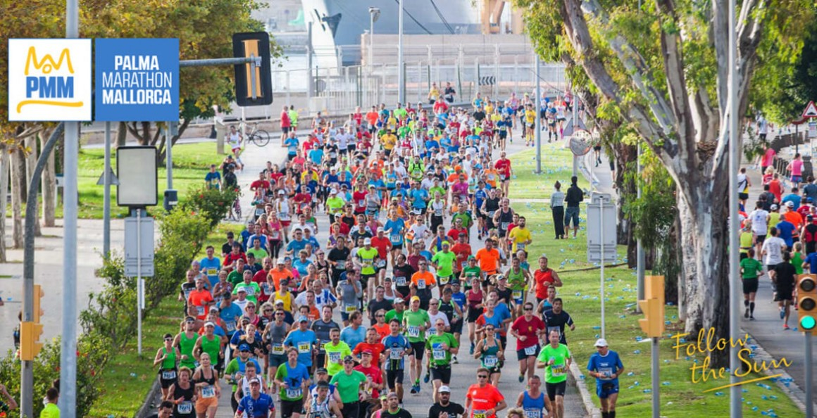 Mallorca hosts the Palma Marathon Mallorca 2017