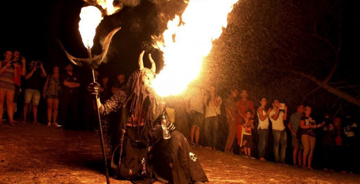 The fiestas of Sant Joan in Mallorca