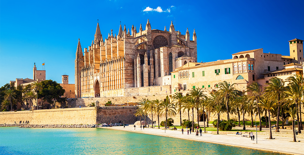 'La Seu', the most emblematic building in Mallorca